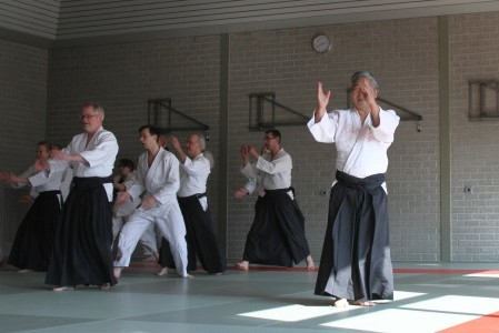 Geslaagd seminar Yoshigasaki sensei