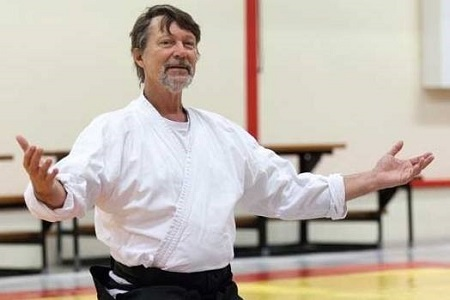 Corky Quakenbush sensei in Utrecht